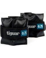 Tiguar Obciążniki na rzepy czarne 2x0,75kg (TI-OB00075), 5906660029878