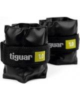 Tiguar Obciążniki na rzepy czarne 2x1kg (TI-OB00010), 5906660029885