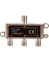 Antena RTV DigiSAT Rozgałęźnik sygnału RTV GN-3GN SP13 DigiSat 5-2400MHz 77-216#