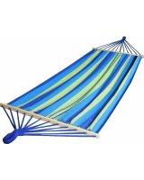 Royokamp Hamak Standard 2 osobowy 200x150cm niebieski, 586330