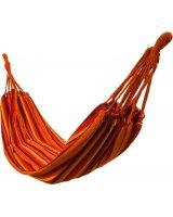 Royokamp Hamak Classic 2 osobowy 200x150cm pomarańczowy, 1021089
