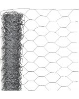 Nature Nature Siatka z drutu, sześciokątna, 1x5 m, 40 mm, galwanizowana stal, 409374