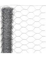 Nature Nature Siatka z drutu, sześciokątna 0,5x10 m 25 mm, galwanizowana stal, 419769