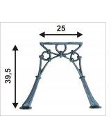 Noga żeliwna do ławki bez oparcia MINI 2 deski, NOGA TAB2