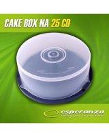 Esperanza Pudełko CAKE BOX Na 25 CD/DVD - 3133