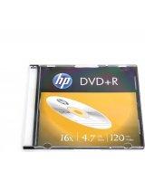 HP HP DVD+R 4.7GB 16X SLIM CASE*1 [12958], HP16S+