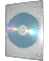 Box na 2 szt. CD, przezroczysty tray, 10,4 mm