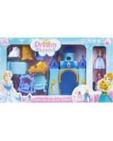 Mega Creative Zamek dla lalek z akcesoriami (443386), CB688-8F