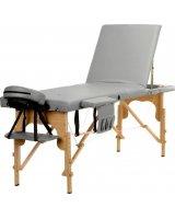 BODYFIT Stół, łóżko do masażu 3-segmentowe drewniane uniwersalny, 2730-uniw