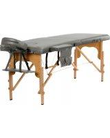 BODYFIT Stół, łóżko do masażu 2-segmentowe drewniane uniwersalny (2236), 2236-uniw