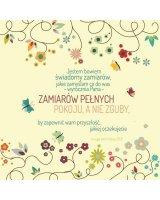 Szaron Podstawka korkowa - Jestem Bowiem kwiaty - 225896