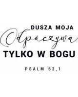 Szaron Podstawka korkowa - Dusza moja odpoczywa, 391664
