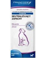 FRANCODEX Szampon dla psów neutralizujący zapachy saszetka 20 ml, VAT008663