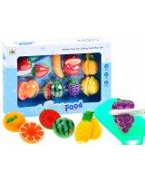 Rotaļlietu augļi sagriešanai ''Cutting Food'', HRZA1725-A