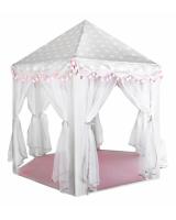 Bērnu telts grey-pink 8772