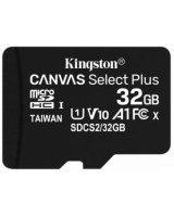 Kingston MicroSDHC 32GB Canvas Select Plus