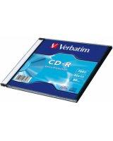 Matricas CD-R Verbatim 700MB 1x-52x Extra protection, Single Wrap Slim