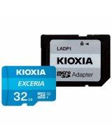 Kioxia MicroSD 32GB class 10 + переходник SD, LMEX1L032GG2