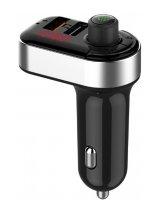 MOBILE CHARGER CAR USB 3IN1/FM TRANSMITTER BTT-04 GEMBIRD