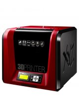 3D Printer|XYZPRINTING|Technology Fused Filament Fabrication|da Vinci Jr. 1.0 Pro|size 42 x 43 x 38 cm|3F1JPXEU01B, 1254501