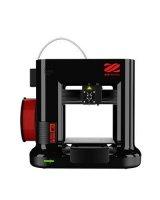 3D Printer|XYZPRINTING|Technology Fused Filament Fabrication|da Vinci mini w+|size 390 x 335 x 360mm|3FM3WXUS02H, 1334655