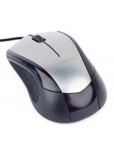 MOUSE USB OPTICAL BLACK/GREY/MUS-3B-02-BG GEMBIRD, 1258940