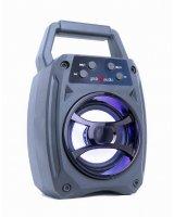 Portable Speaker GEMBIRD Wireless 1xMicro-USB Bluetooth Blue SPK-BT-14
