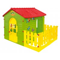 Rotaļu mājas, slidkalniņi, smilšu kastes